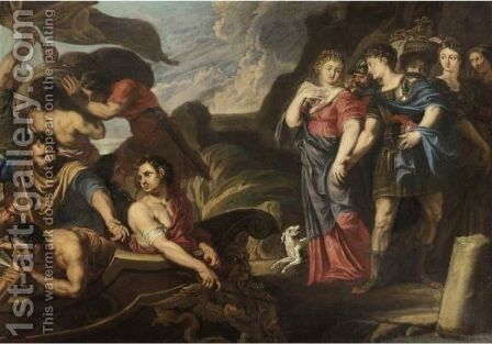 Partenza Di Enea by (after) Sir Peter Paul Rubens - Reproduction Oil Painting