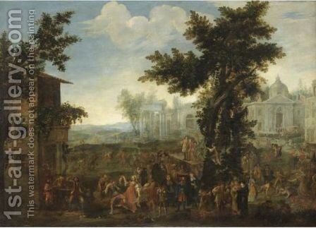 Kermesse by (after) Michelangelo Cerquozzi - Reproduction Oil Painting