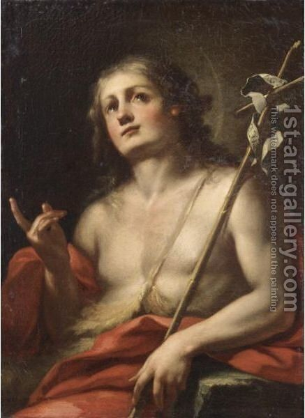 San Giovanni by Italian School - Reproduction Oil Painting