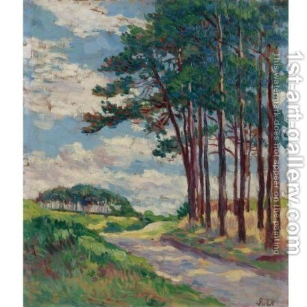 Paysage 3 by Maximilien Luce - Reproduction Oil Painting
