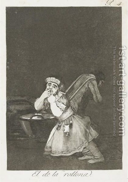 Los Caprichos Plates by Goya - Reproduction Oil Painting