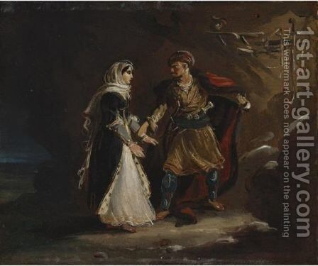 The Bride Of Abidos by Theodore Gericault - Reproduction Oil Painting