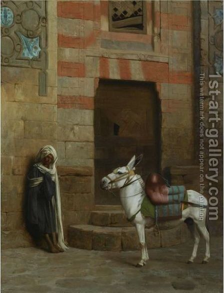 Ane Egyptien by Jean-Léon Gérôme - Reproduction Oil Painting