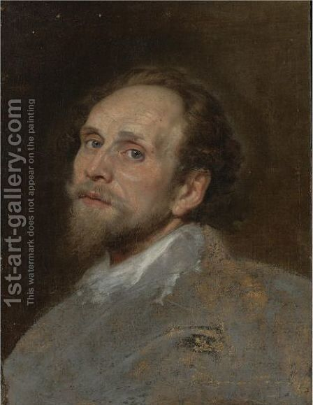Portrait Of A Man 2 by (after) Dyck, Sir Anthony van - Reproduction Oil Painting