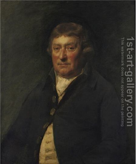 Portrait Of John Balfour, Esq., Of Trenabie, Orkney, N.B. by (after) Sir Henry Raeburn - Reproduction Oil Painting