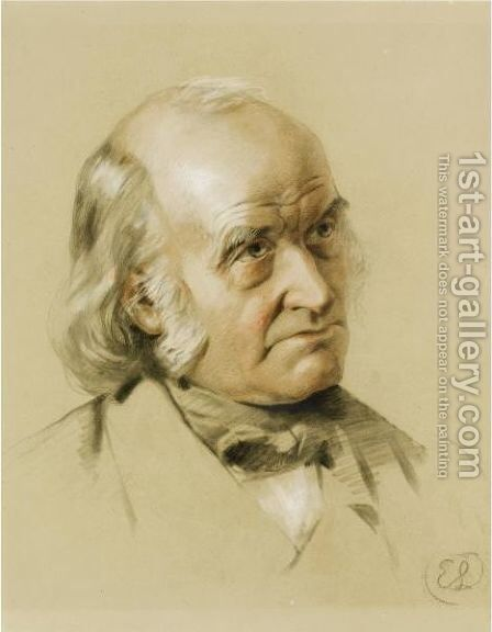 Portrait Study Of A Gentleman by Sir Edwin Henry Landseer - Reproduction Oil Painting