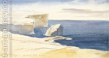 Gozo by Edward Lear - Reproduction Oil Painting