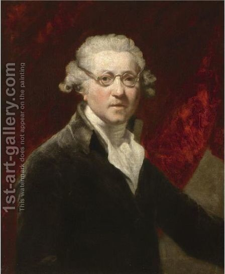 Self Portrait 2 by (after) Sir Joshua Reynolds - Reproduction Oil Painting