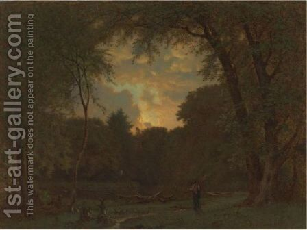 Evening 2 by George Inness - Reproduction Oil Painting