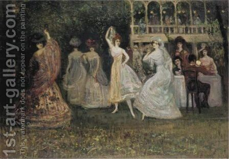 Spanish Night by Charles Edward Conder - Reproduction Oil Painting