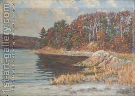 Along The Shore by Aloysius O'kelly - Reproduction Oil Painting