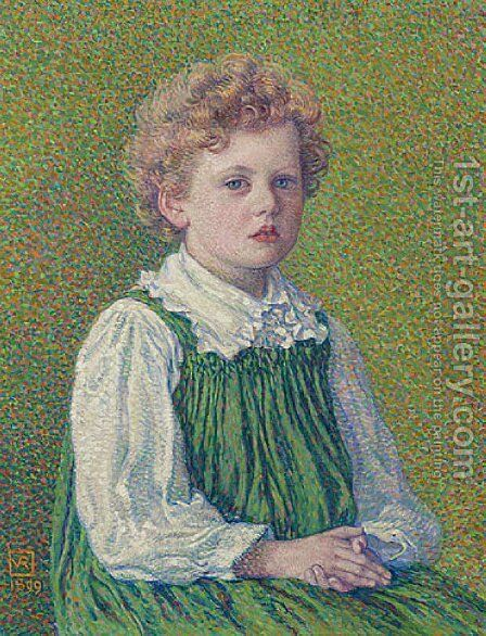 Margery by Theo van Rysselberghe - Reproduction Oil Painting