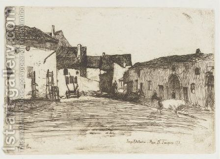 Liverdun by James Abbott McNeill Whistler - Reproduction Oil Painting