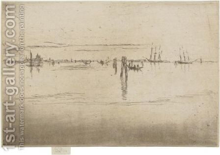 Long Lagoon by James Abbott McNeill Whistler - Reproduction Oil Painting