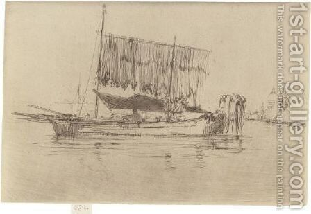 Fishing Boat by James Abbott McNeill Whistler - Reproduction Oil Painting