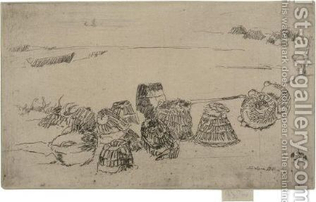 Lobster-Pots by James Abbott McNeill Whistler - Reproduction Oil Painting