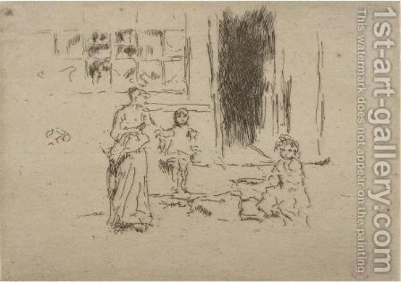 Petticoat Lane by James Abbott McNeill Whistler - Reproduction Oil Painting