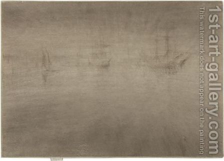Nocturne Shipping by James Abbott McNeill Whistler - Reproduction Oil Painting