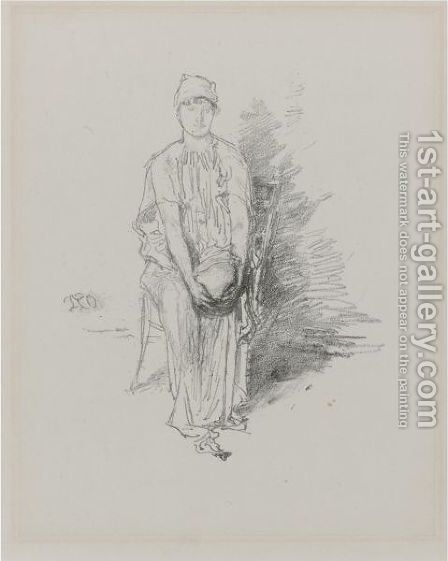 Figure by James Abbott McNeill Whistler - Reproduction Oil Painting