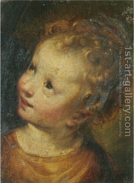 The Christ Child by (after) Federico Fiori Barocci - Reproduction Oil Painting