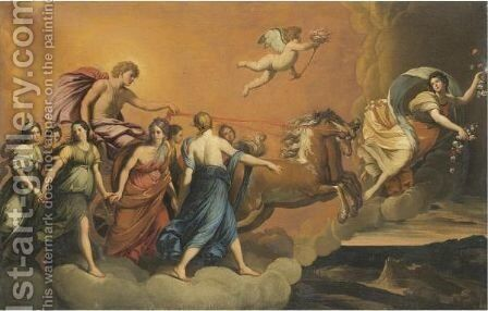 Aurora by (after) Guido Reni - Reproduction Oil Painting