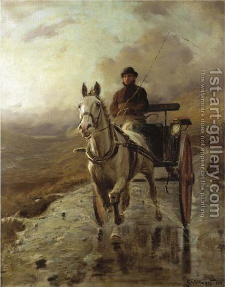 The Country Doctor by Charles Stewart - Reproduction Oil Painting