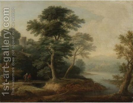 Landscape 2 by (after) Gainsborough, Thomas - Reproduction Oil Painting