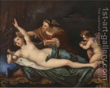 The Rape Of Danae by (after) Mengs, Anton Raphael - Reproduction Oil Painting