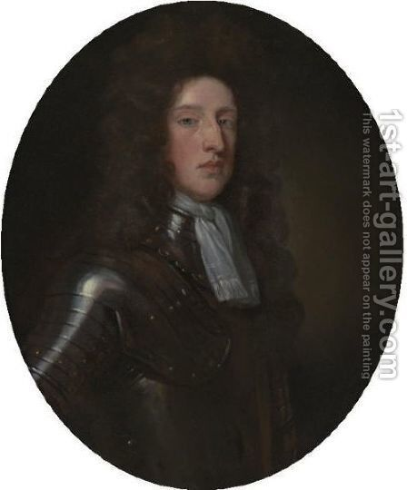 Lord Archibald Hamilton by (after) Kneller, Sir Godfrey - Reproduction Oil Painting