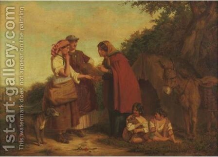 The Fortune Teller by James Stokeld - Reproduction Oil Painting