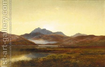 Loch Etive by Arthur Gilbert - Reproduction Oil Painting