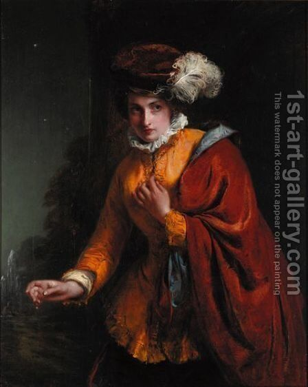 The Intruder by (after) Abraham Soloman - Reproduction Oil Painting