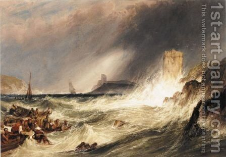 Swept Away by Charles Bentley - Reproduction Oil Painting