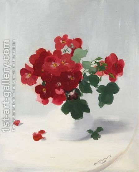Red Roses 2 by James Stuart Park - Reproduction Oil Painting