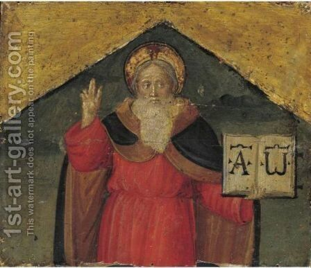 God The Father by Italian Unknown Master - Reproduction Oil Painting