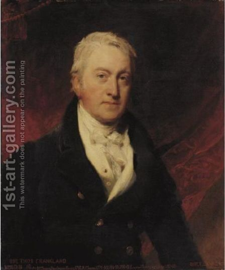 Portrait Of Sir Thomas Frankland, 6th Bt., Mp, Frs (1750-1831) by Sir Lawrence Alma-Tadema - Reproduction Oil Painting