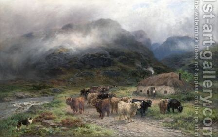 Highlanders Going South by Henry Garland - Reproduction Oil Painting