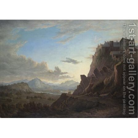 A View Of Stirling Castle by (after) Alexander Nasmyth - Reproduction Oil Painting