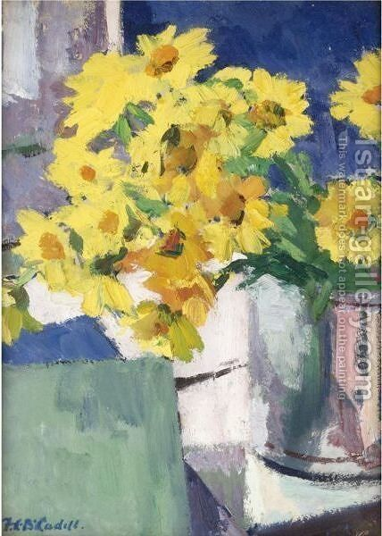 Corn Marigolds by Francis Campbell Boileau Cadell - Reproduction Oil Painting