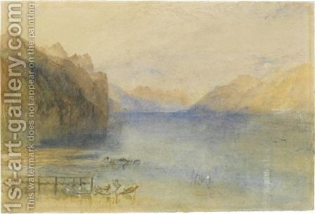 Lake Lucerne by Turner - Reproduction Oil Painting