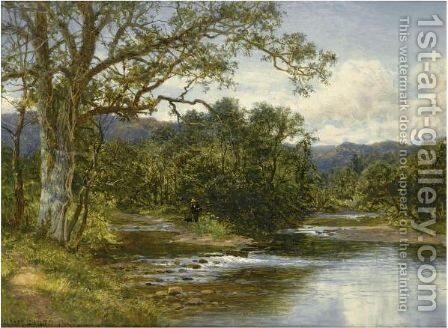 Bettws-Y-Coed, North Wales by Benjamin Williams Leader - Reproduction Oil Painting