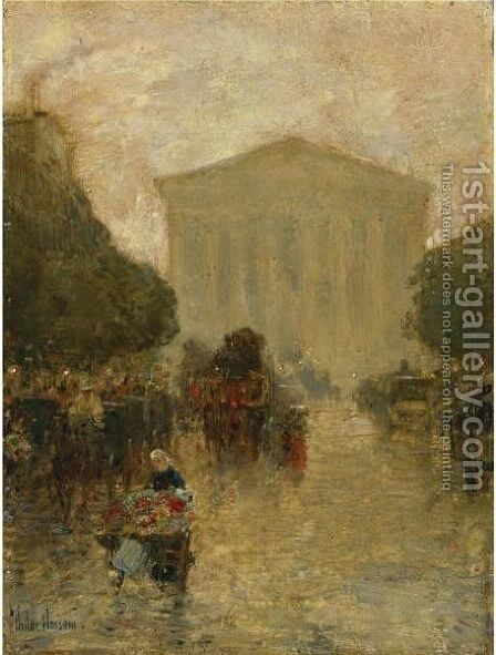Twilight After Rain by Frederick Childe Hassam - Reproduction Oil Painting