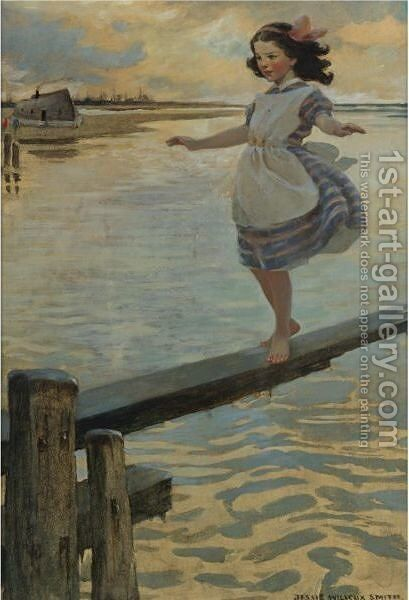 The Little Em'Ly by Jessie Willcox Smith - Reproduction Oil Painting