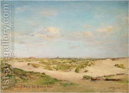 View Of Coxid, La Panne by Ivan Pavlovich Pokhitonov - Reproduction Oil Painting