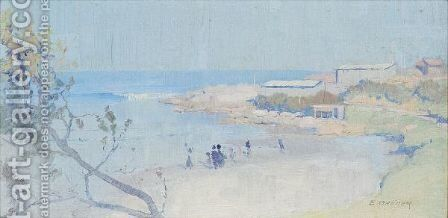 Little Coogee by Elioth Gruner - Reproduction Oil Painting
