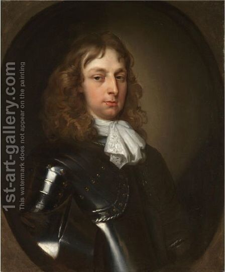 Portrait Of Sir Edward Campion by Jacob Huysmans - Reproduction Oil Painting