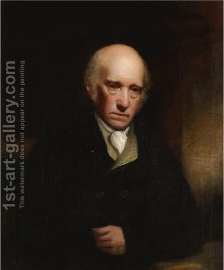 Portrait Of Warren Hastings (1732-1818) by Sir William Beechey - Reproduction Oil Painting