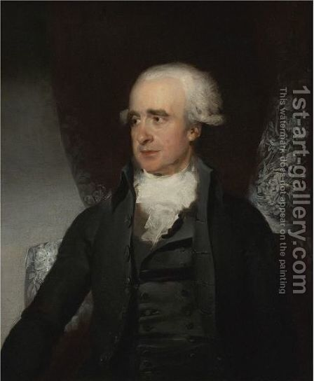 Portrait Of A Gentleman, Said To Be The Rt. Hon. Spencer Perceval M.P. (1762-1812) by Sir Thomas Lawrence - Reproduction Oil Painting