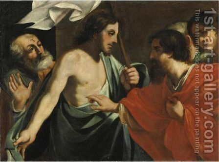 San Tommaso by Italian School - Reproduction Oil Painting