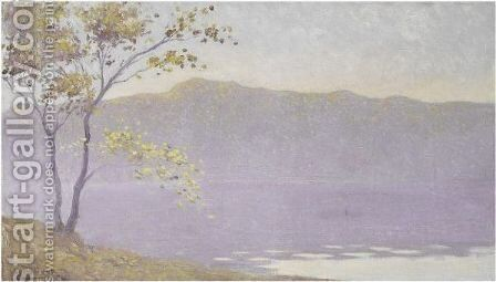 Brume D'Automne by Alphonse Osbert - Reproduction Oil Painting